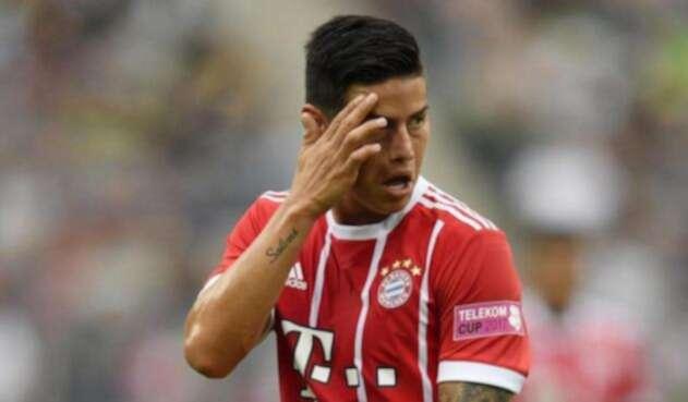 James Rodrígues, volante del Bayern Múnich