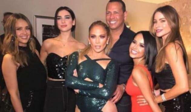 Jennifer Lopez y las invitadas especiales en concierto en Las Vegas