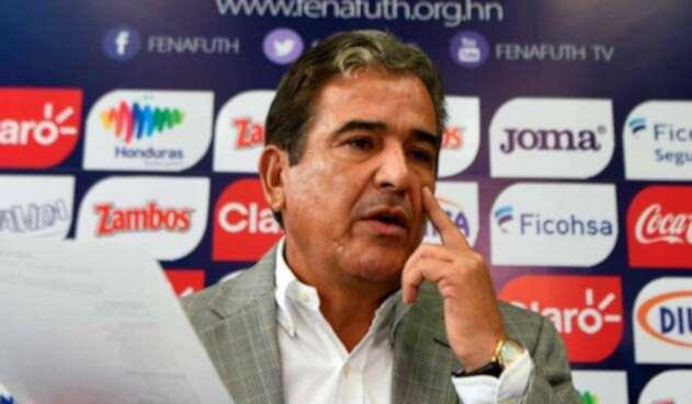 Jorge Luis Pinto dirigió a Honduras en el camino al Mundial de Rusia 2018