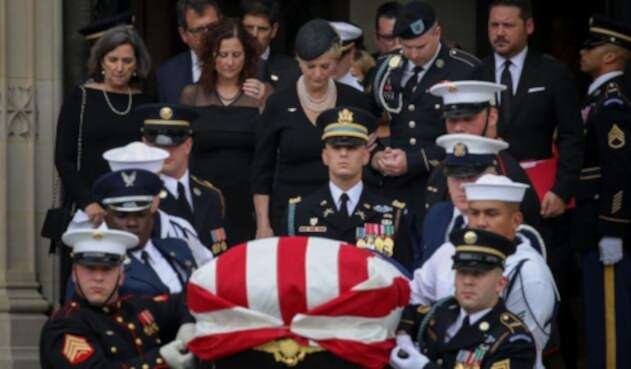 Funeral  John McCain