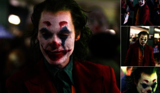 Joaquin Phoenix como 'Joker'