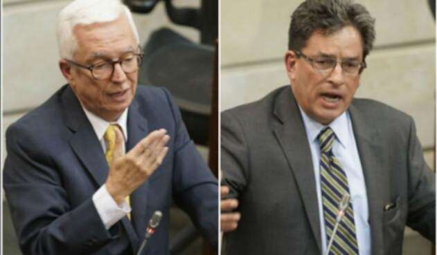 Jorge Robledo y Alberto Carrasquilla se enfrentaron en el Senado