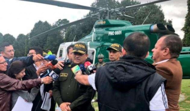 El general Jorge Nieto, director de la Policía Nacional