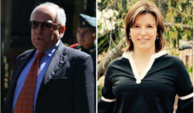 José Obdulio Gaviria y Sandra Borda, enfrentados por el consumo de droga