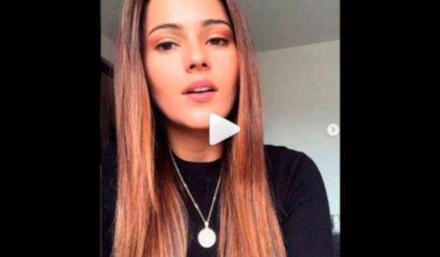 Juliana Díaz, exrepresentante de Santander en el Reinado Nacional de la Belleza