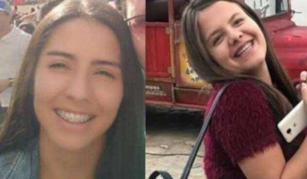 Laura Sofía González y Laura Valeria Melo Cifuentes
