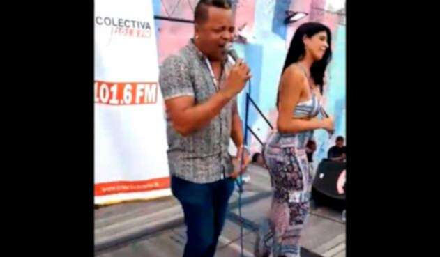 'La Madame' baila en la cárcel en Cartagena