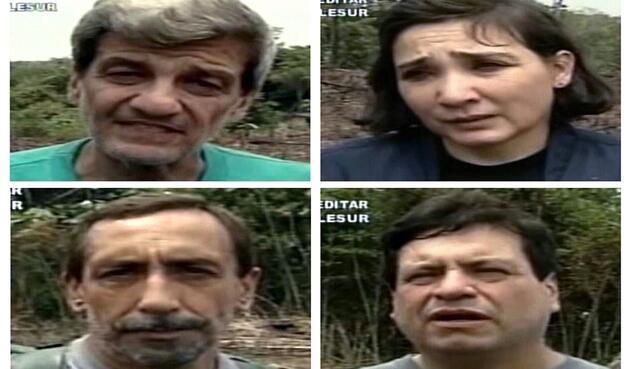 Jorge Eduardo Gechem, Gloria Polanco, Luis Eladio Perez y Orlando Beltran