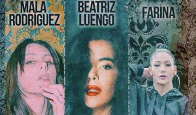 Mala Rodríguez, Beatriz Luengo y Farina