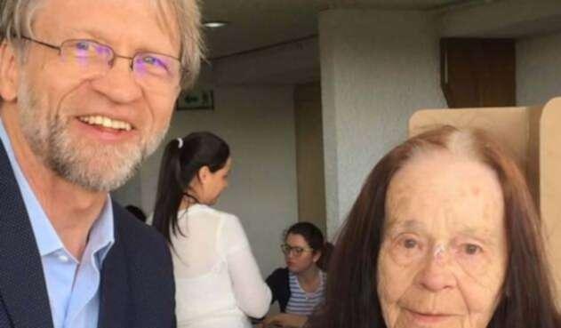 Madre de Antanas Mockus falleció a sus 94 años