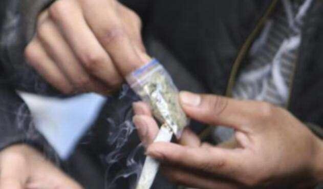 Consumidor de marihuana