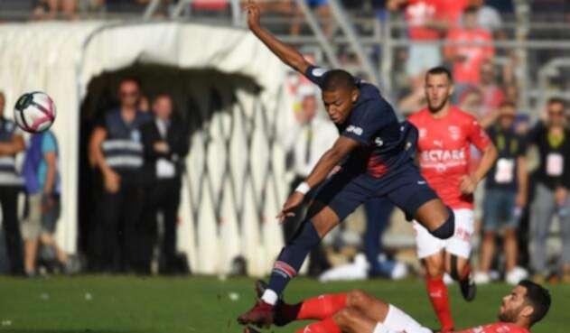 Mbappé fue la figura del PSG, pero salió expulsado