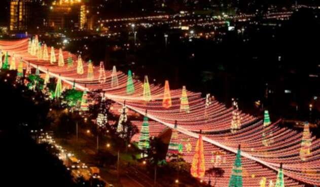 Así luce Medellín en épocas decembrinas