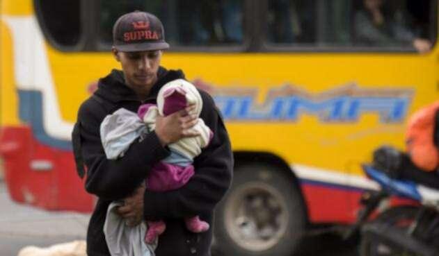 Defensoria advierte de grave situación de niños migrantes en Colombia.