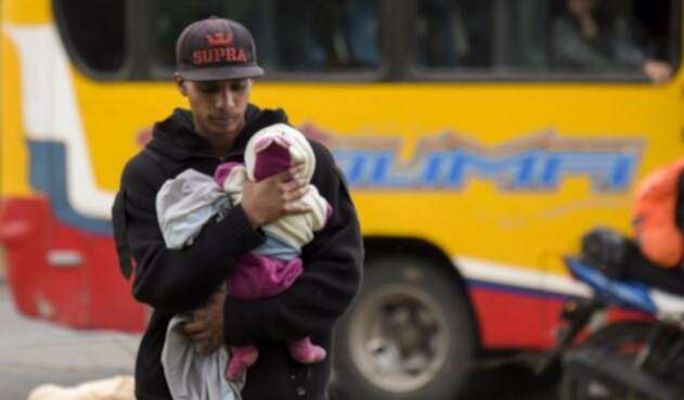 Migración venezolanos en Colombia