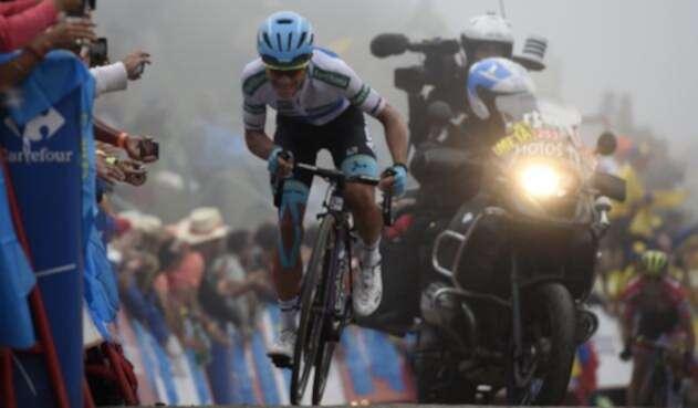 Miguel Ángel López (Superman) en La Vuelta 2018