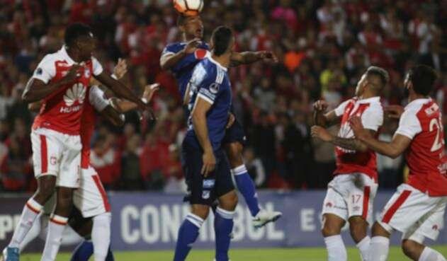 Santa Fe vs Millonarios por Copa Sudamericana