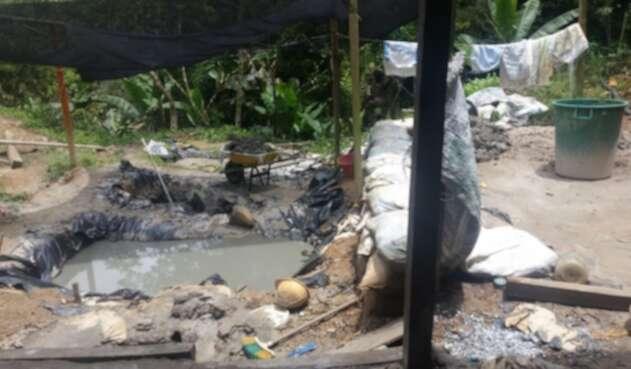 40 niños habrían sido usados como escudo humano en operativos contra la minería ilegal
