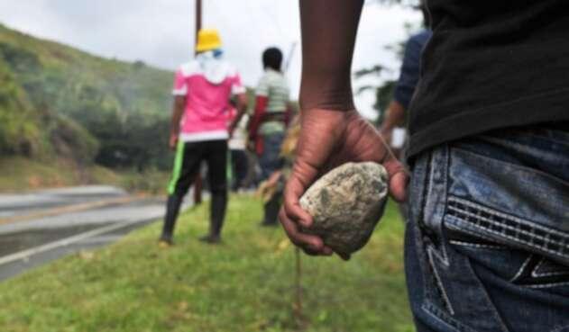 Protestas indígenas en Colombia
