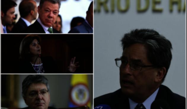Los ministros que han sido objeto de la moción de censura