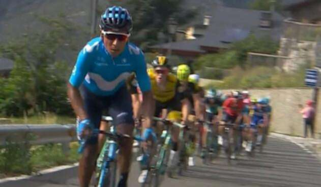 Nairo atacó en la penúltima etapa de montaña de la Vuelta 2018