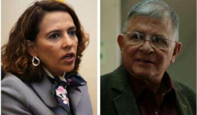 Nancy Patricia Gutiérrez y Rodrigo Granda