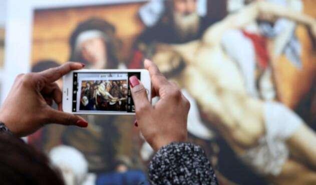 Obras del Museo del Prado en la Plaza de Bolívar