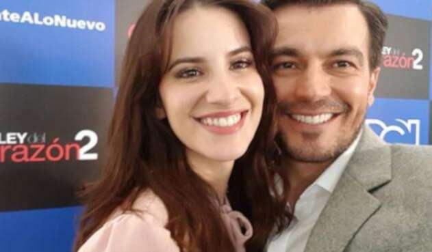 Pablo Domínguez y Julia Escallón
