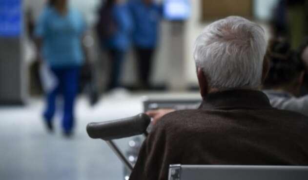 Paciente atendido en un centro hospitalario, en Colombia