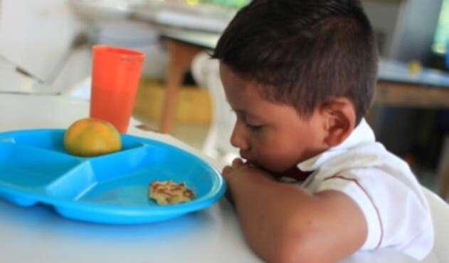 Aseguran que en ocho meses no hubo alimentación en los colegios de Cartagena.
