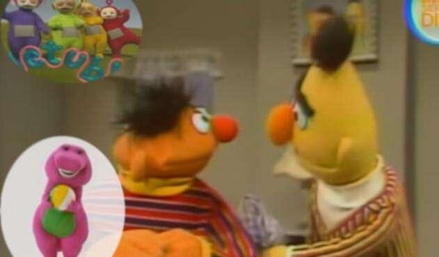 Beto, Enrique, Teletubbies, Barney