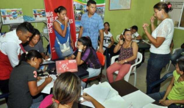 plan piloto de discapacitados en Cartagena.