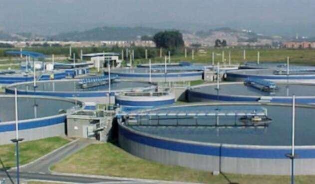 Planta de tratamiento del Acueducto de Bogotá