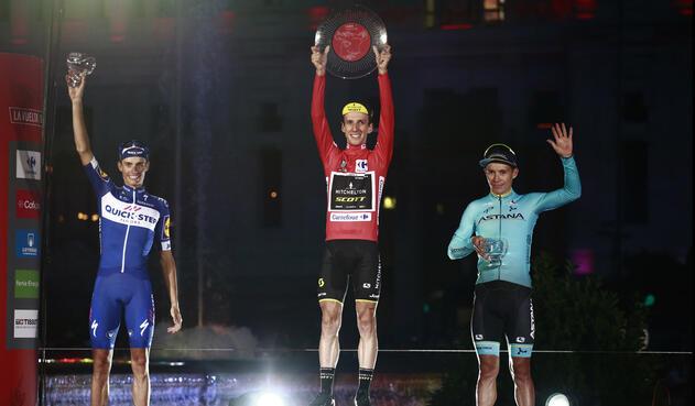 Podio Vuelta a España 2018