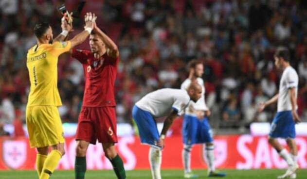 Portugal derrotó (1-0) a Italia en la Liga de Naciones