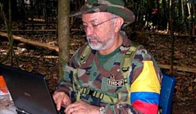 Raúl Reyes, guerrillero de las Farc abatido por las Fuerzas Militares el primero de marzo de 2008