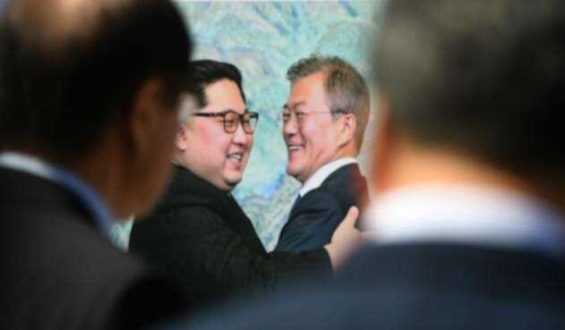 Reunión entre Moon Jae-in y Kim Jong