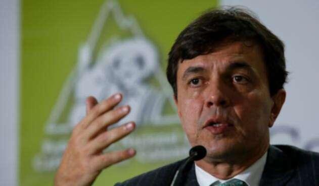 Roberto Vélez Vallejo, gerente de la Federación Nacional de Cafeteros de Colombia