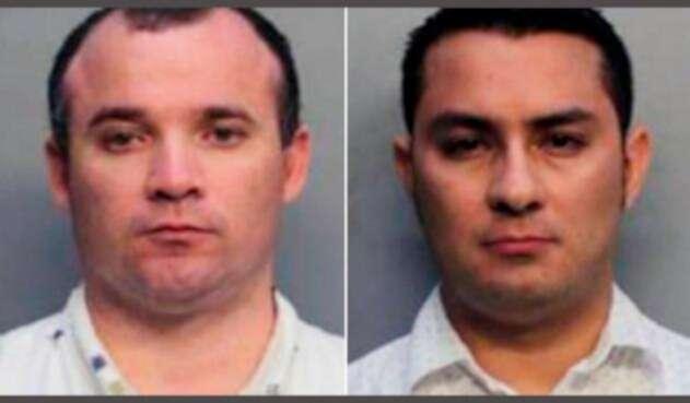 Diego Berrio y Edwin Giraldo, sacerdotes detenidos en Miami