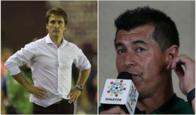 Guillermo Barros Schelotto y Jorge Almirón