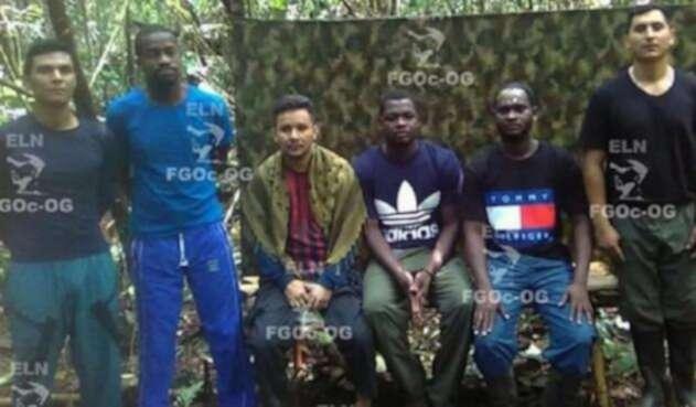 Las pruebas de supervivencia que entregó el ELN sobre secuestrados en Chocó.