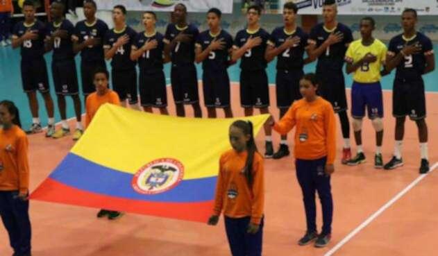 Selección Colombia sub 19 de voleibol