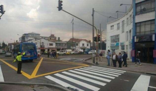 Semáforos en Bogotá
