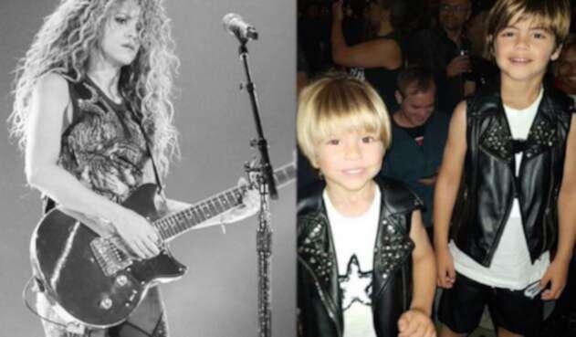 Shakira e hijos
