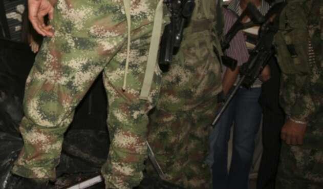 Soldados del Ejército de Colombia