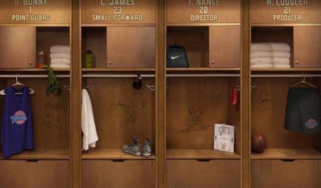 Imagen con la que se confirma Space Jam 2 con la aparición de LeBron James