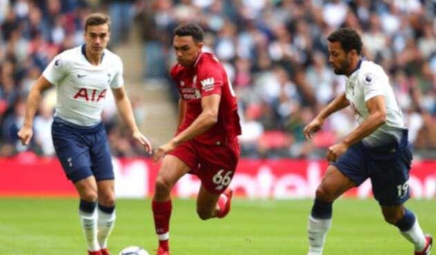 Liverpool derrotó al Tottenham por la Premier
