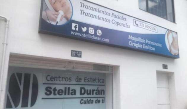 Instalaciones de uno de los centros de estética de Stella Durán