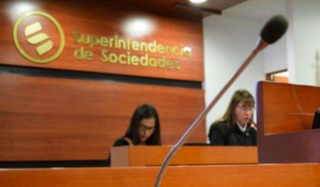 Audiencia en la Superintendencia de Sociedades
