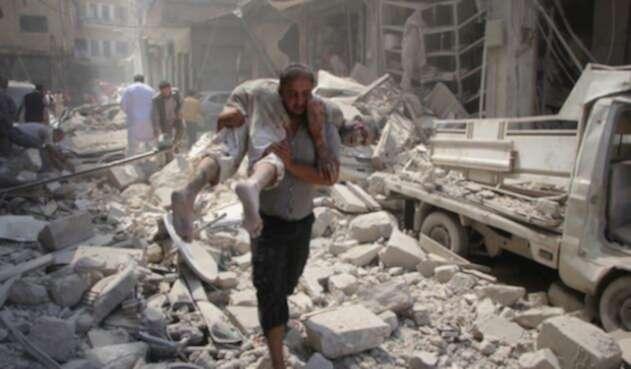 Idlib, en Siria.